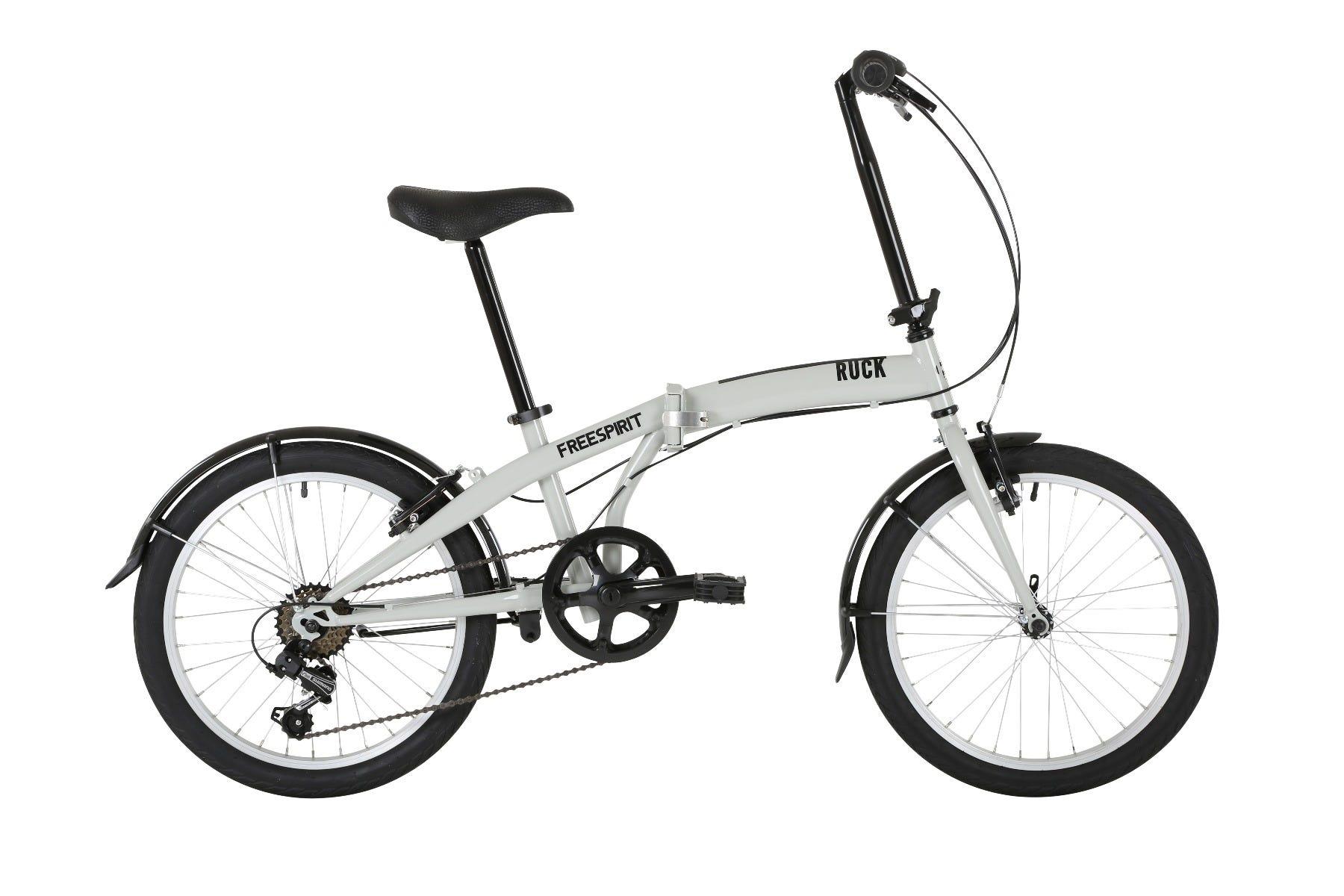 "Freespirit Ruck 20"" 2020 Folding Bike Grey"