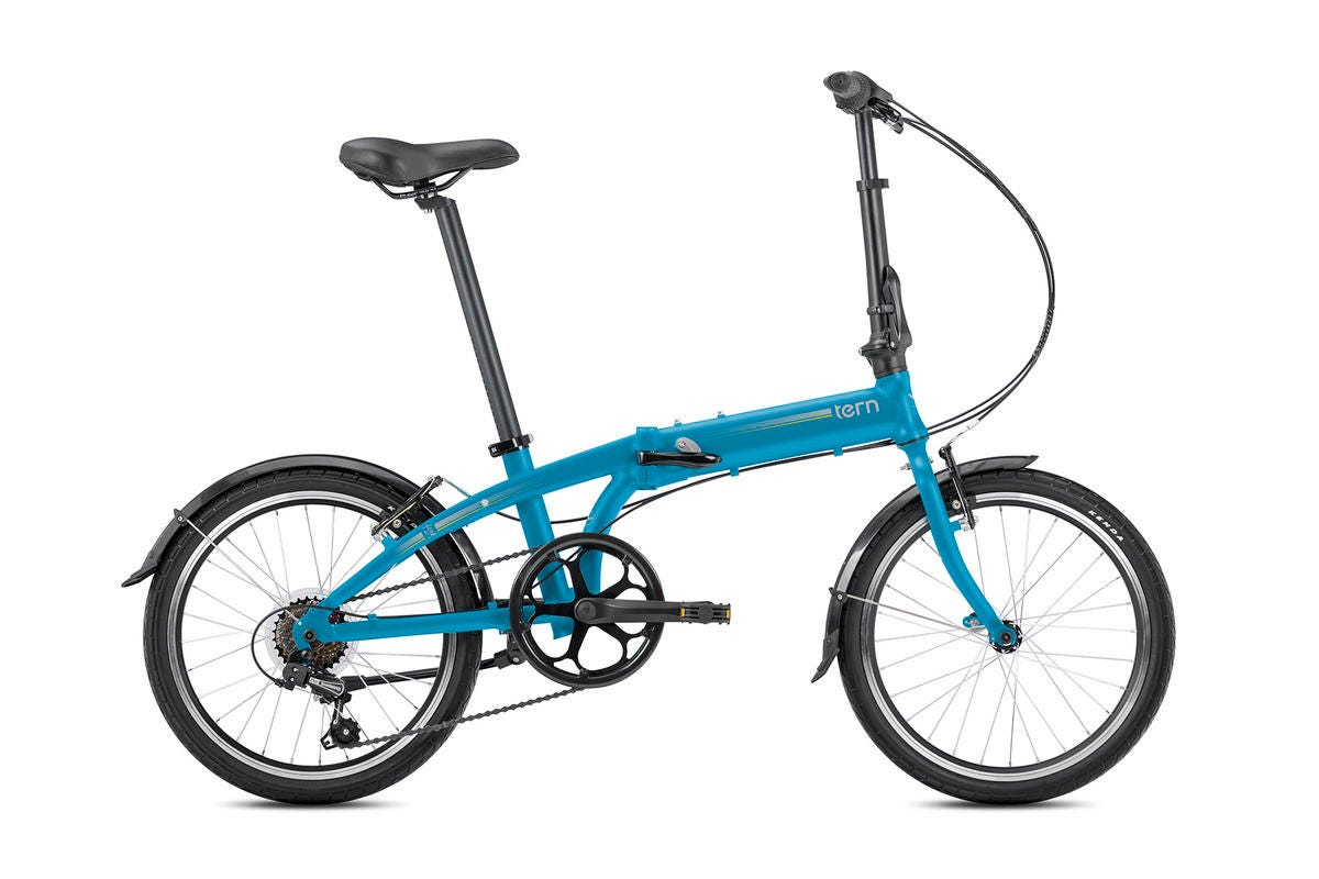"Tern Link A7 20"" 7Spd 2020 Folding Bike Blue/Silver"
