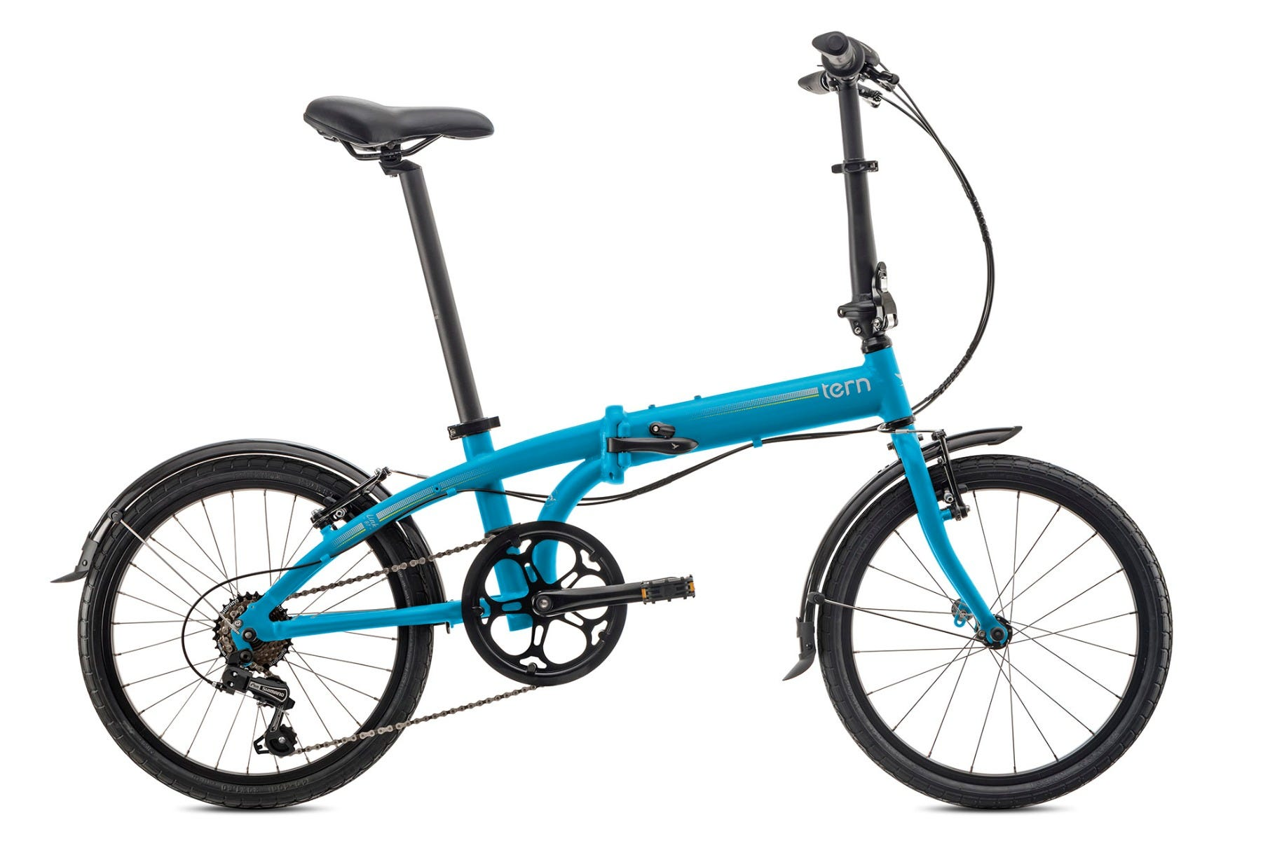 "Tern Link B7 20"" 7Spd 2020 Folding Bike Blue"