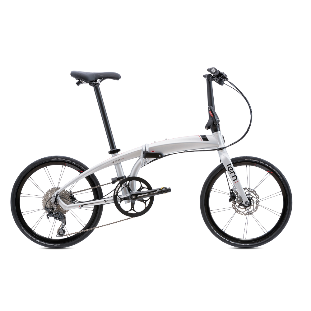 "Tern Verge P10 20"" 2020 Folding Bike Matte Silver"