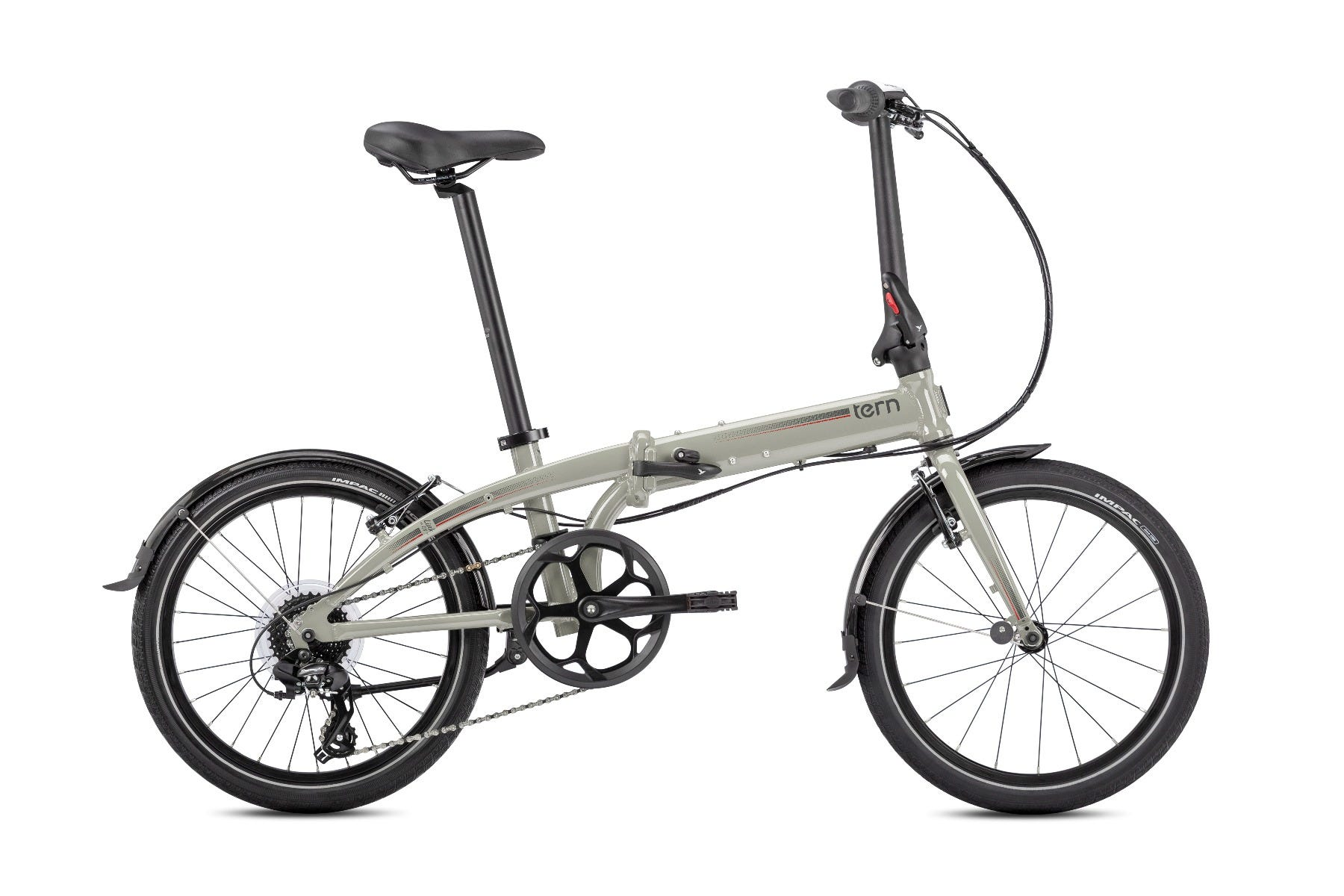 "Tern Link C8 20"" 8Spd 2020 Folding Bike Cement"