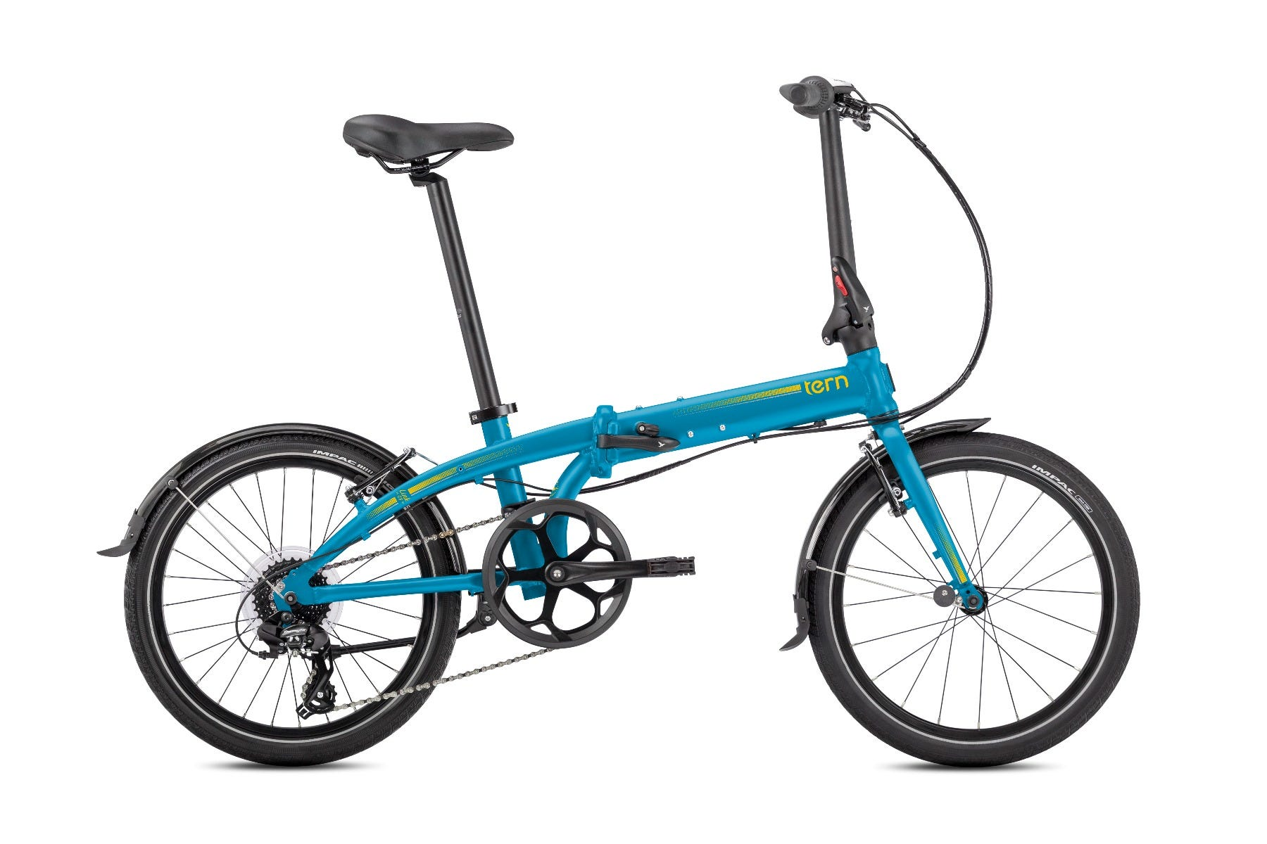 "Tern Link C8 20"" 8Spd 2020 Folding Bike Blue"