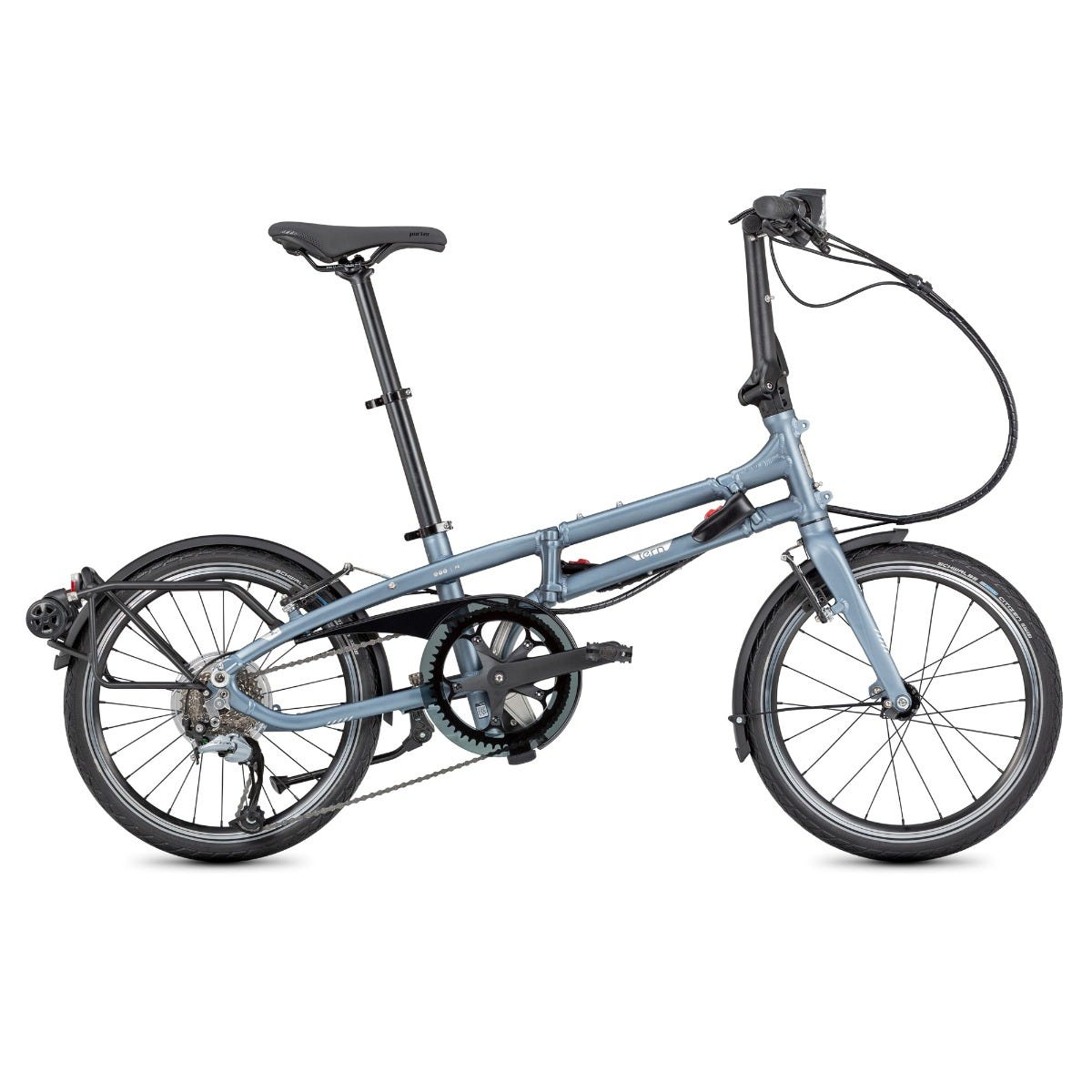 "Tern BYB P8 20"" 2020 Folding Bike Matte Blue"