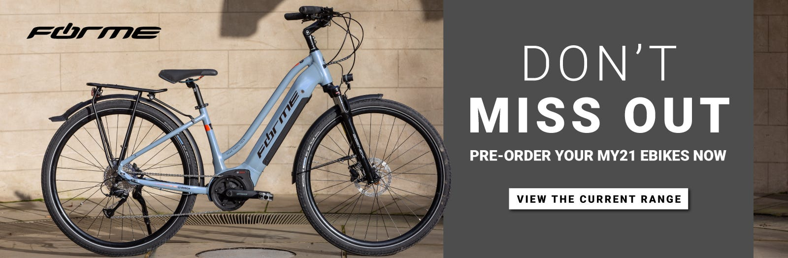 Forme MY21 Pre-Order e-Bikes Now