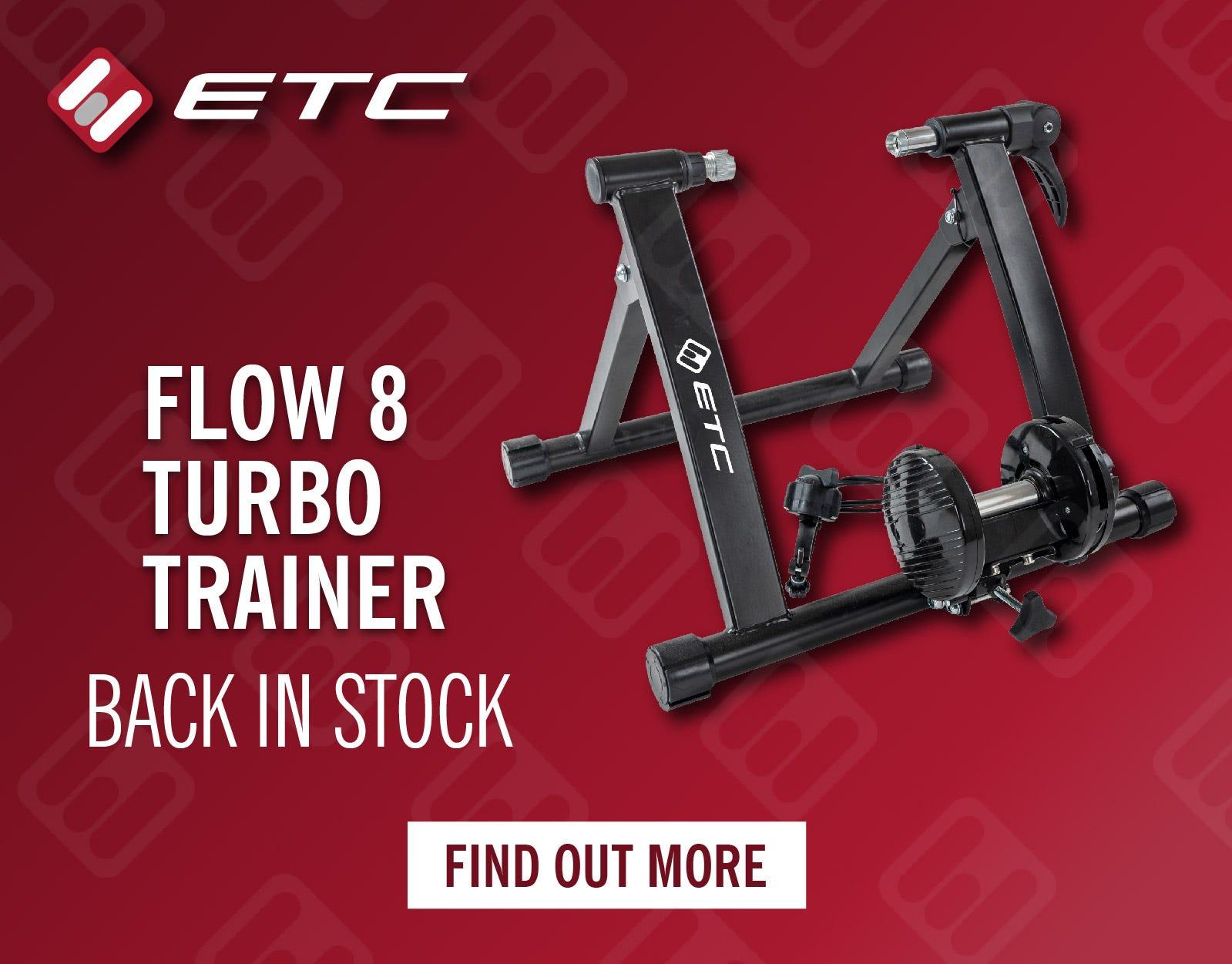 ETC Flow 8 Magnetic Turbo Trainer