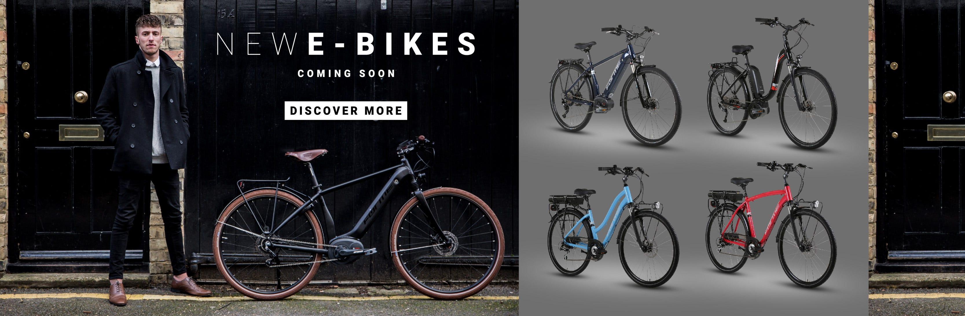 New E-Bikes