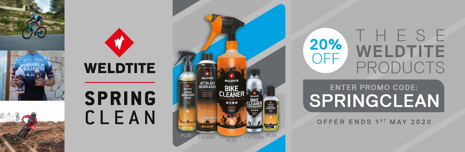 Weldtite | Spring Clean Offer | 20% Off